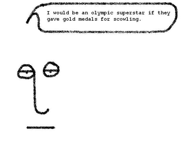 quoolympicscowling