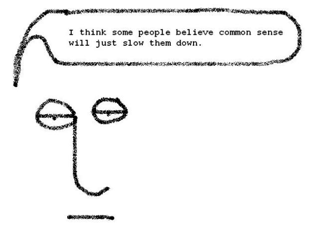 quocommonsenseslowdown