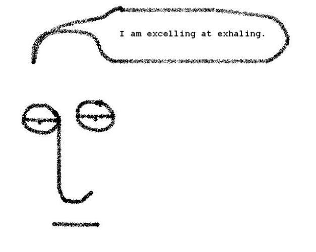 quoexhaling